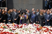 <p>Armenian Memorial in Yerevan</p>