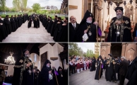 <p>Pope Tawadros among other Oriental and Eastern Bishops attend the Centennial in Armenia</p>