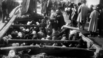 <p>Orphans flee by boat (many arrive to Port Said, Alexandria, Beirut, Syria, New York, among many others)</p>