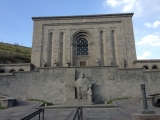 <p>Matenadaran Library in Yerevan where I viewed some manuscripts for my research.</p>