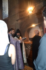 <p>Etzchmiadzin - St Gayane Church; baptism</p>